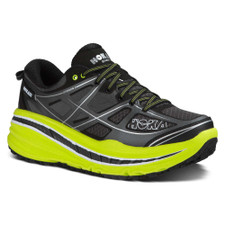 Hoka Men's Stinson 3 ATR Grey/Citrus