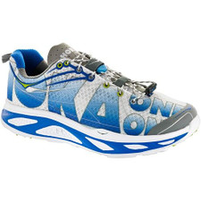 Hoka Men's Huaka White/Blue /Lime