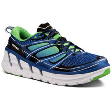 Hoka Men's Conquest 2 Blue/Green Flash/White
