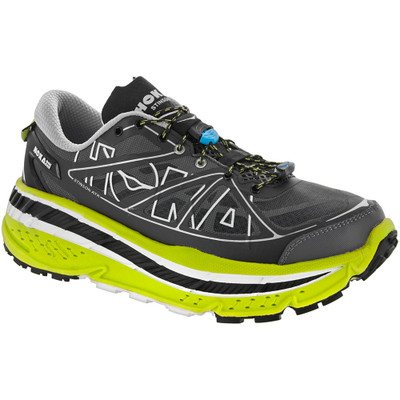 Hoka Men's Stinson ATR Black/Lime