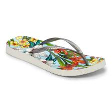 Vionic Women's Noosa Sandal Lt Blue Floral Silver