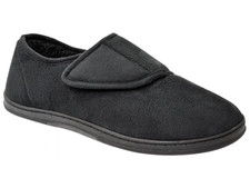 Orthaheel Men's Harbour Slipper Black