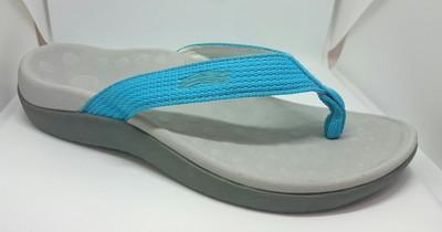 Orthaheel Kids Wave Thongs Light Blue