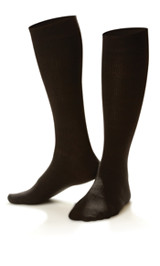Dr. Comfort Women's Casual Trouser Socks Charcoal