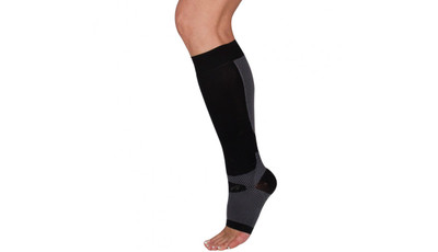 Orthosleeve FS6+ Compression Foot & Calf Sleeve Black