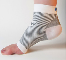 Orthosleeve FS6 Compression Foot Sleeve White
