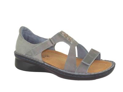 Naot Women's Figaro Sandals Vintage Slate Combo