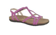 Naot Dorith Women's Pink Plum Nubuk Sandal - 04710 C57