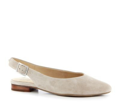 Ziera Lisa Taupe Suede Slingback