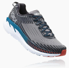 Hoka Men's Clifton 5 Frost Gray / Ebony
