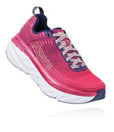 Hoka Women's Bondi 6 Boysenberry / Blue Depths