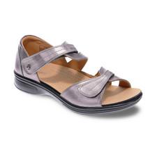 Revere Geneva Women's Closed Heel Sandal Gunmetal - 34GENEGUNW
