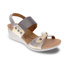 Revere Tahiti Women's Backstrap Wedge Met Interest - 34TAHINTW
