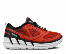 Hoka Men's Conquest Fiery Red/Black/Silver