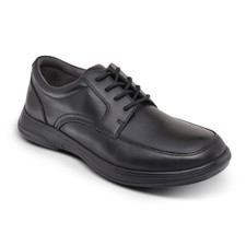 Anodyne Men's No 12 Casual Oxford Black