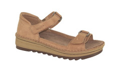 Naot String Women's Solanum Latte Brown Leather Sandal - 17105 E69