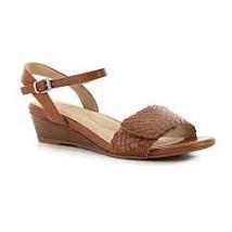 Ziera Kasia Women's Mid Tan Sandal