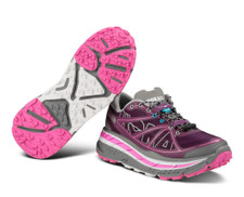 Hoka Women's Stinson ATR Plum/Grey/Fuschia
