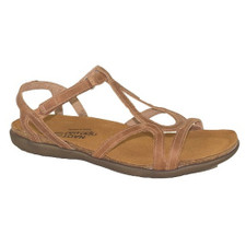 Naot Dorith Women's Latte Brown Leather Sandal - Latte Brown