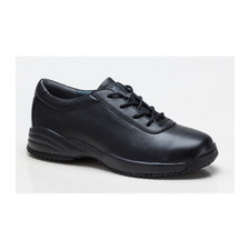 Propet Women's Leather Black Shoe - Black