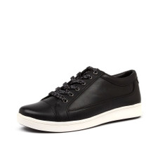 Ziera Danni XF Black/White Sol Leather - Black/White