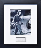 "Robert ""Shorty"" Rankin in his flight suit w/ Autograph  Aviation Art"
