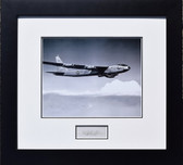 "B-52 Stratofortress - w/ Autograph of Boeing Test Pilot A.M. ""Tex"" Johnston  Aviation Art"