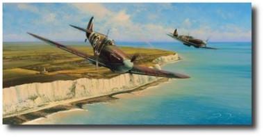 Channel Sweep  Aviation Art