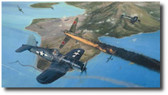 Rabaul - Fly For Your Life  Aviation Art