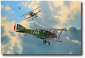 The Biff Boys & Camels on Patrol Aviation Art