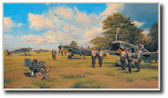 Eagles on the Channel Front  Aviation Art
