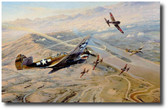 Fighting Tigers   Aviation Art