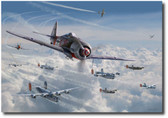Bretschneider's End by Jim Laurier Aviation Art