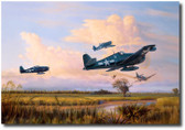 Easy Kill Over Luzon by Jim Laurier Aviation Art
