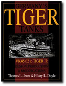 Germany's Tiger Tanks: VK45.02 to TIGER II Design, Production & Modifications by Thomas L. Jentz and Hilary L. Doyle