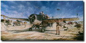THE MAGNIFICENT FIGHT BY John Shaw  Aviation Art