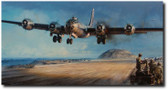 IWO JIMA: A HARD WON HAVEN  By John Shaw  Aviation Art