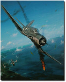 SEMPER FI SKIES By John Shaw Aviation Art