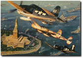 GOD SHED HIS GRACE ON THEE By John Shaw Aviation Art