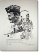 Robin Olds Portrait by John Shaw Aviation Art