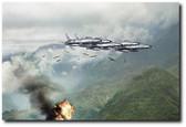 Hun Line Of Fire Aviation Art