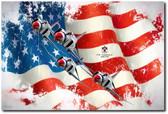 Thunderbirds F-4e Phantom II Aviation Art