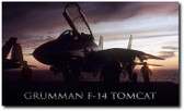 Tomcat Sunset Aviation Art