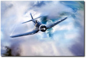 Bent Wing Wonder Aviation Art