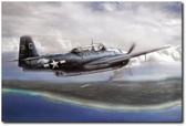 Taking Tinian Aviation Art
