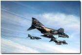 Phantom Strike Force Aviation Art