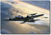 Assult On Romilly Aviation Art
