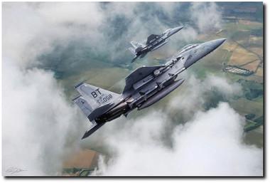 Beware Of Bulldogs Aviation Art