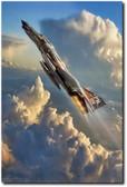 Phantom Cloud Break Aviation Art