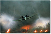 Close Air Support Aviation Art
